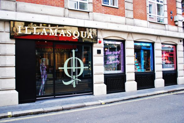 Illamasqua's First Beauty School Drop In