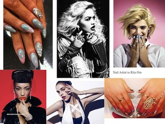 Rebecca Wilson: Celebrity and Session Nail Artist appointments