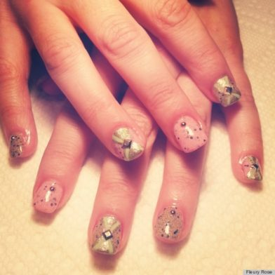 Fleury Rose: Easter Nail Designs