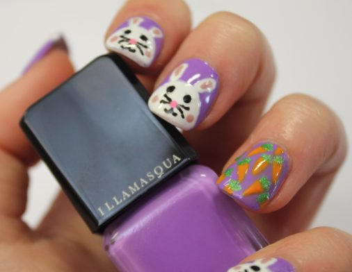 Samantha's Mid-Week Nail Inspiration: Easter Bunny