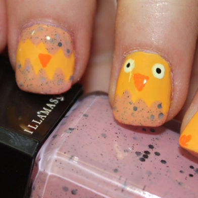 Samantha's Mid-Week Nail Inspiration: Hatching Easter Chick