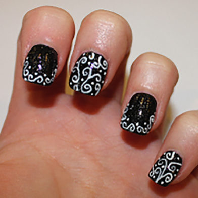 Samantha's Mid-Week Nail Inspiration: Bold Patterns and Textures