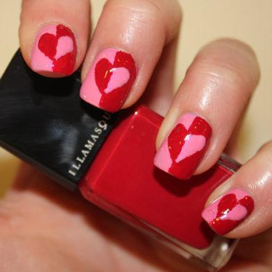 Samantha's Mid-Week Inspiration: Valentines Heart Nail Art