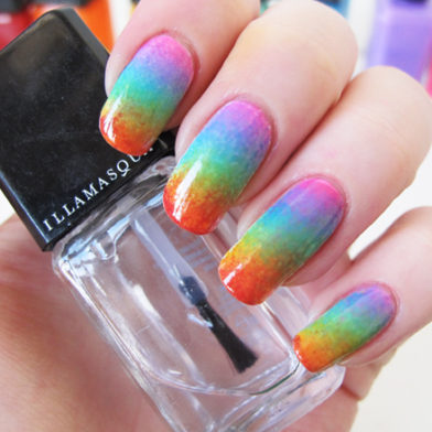 Rainbow Nail Tutorial for Gay Pride