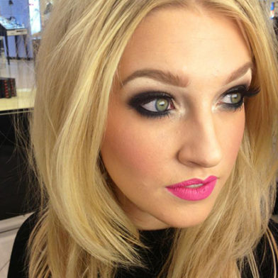 Get the Look: Kardashian Eyes and a Colour Pop Lip by Charlotte Savoury
