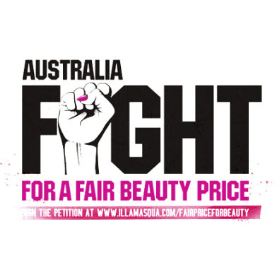 We need your help! Australia's Fight For A Fair Beauty Price
