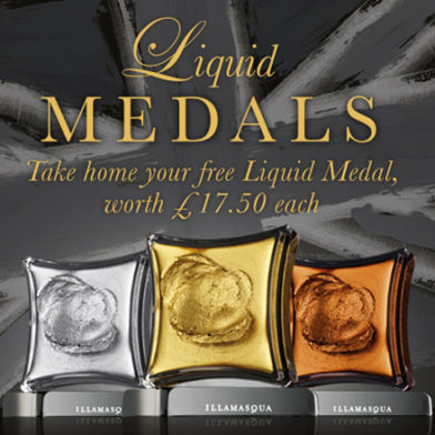 Liquid Medals; a winning offer from Illamasqua