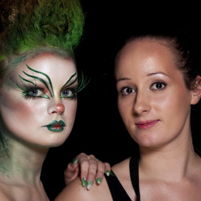 Illamasqua's Distinction in Make-up Artistry Award Winner 2011 - Kelly Odell