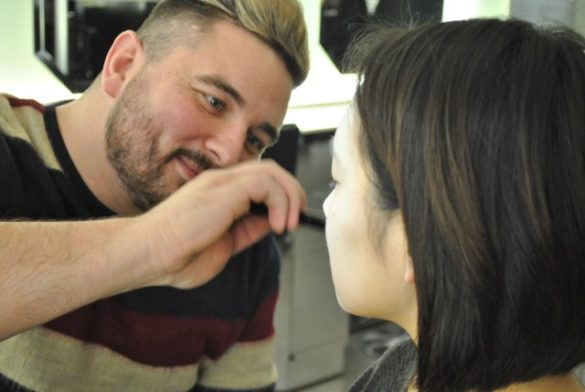 Daniel visits the Illamasqua School of Make-Up