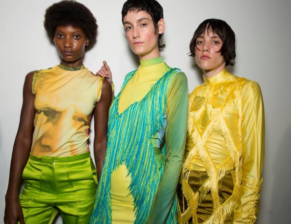 Richard Malone and Illamasqua at London Fashion Week