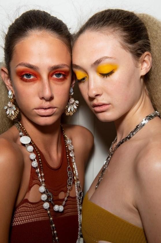 Mark Fast and Illamasqua at London Fashion Week