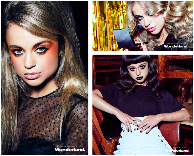 The Reign of Rock Ft Amelia Windsor. In collaboration with Wonderland magazine.
