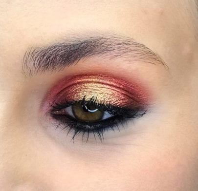 Christmas Party Makeup: Iconic Chromes How-to