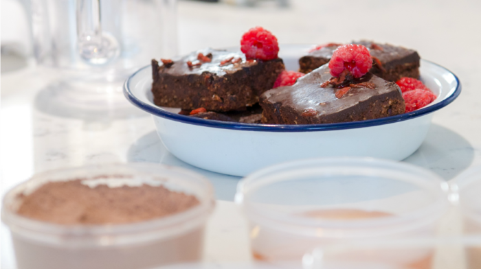 Rezepte: Bake-Free Clean Brownies essen