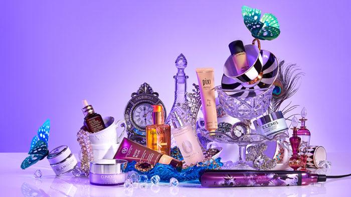 Shoppa produkter från lookfantastics julkampanj: Beauty in Wonderland