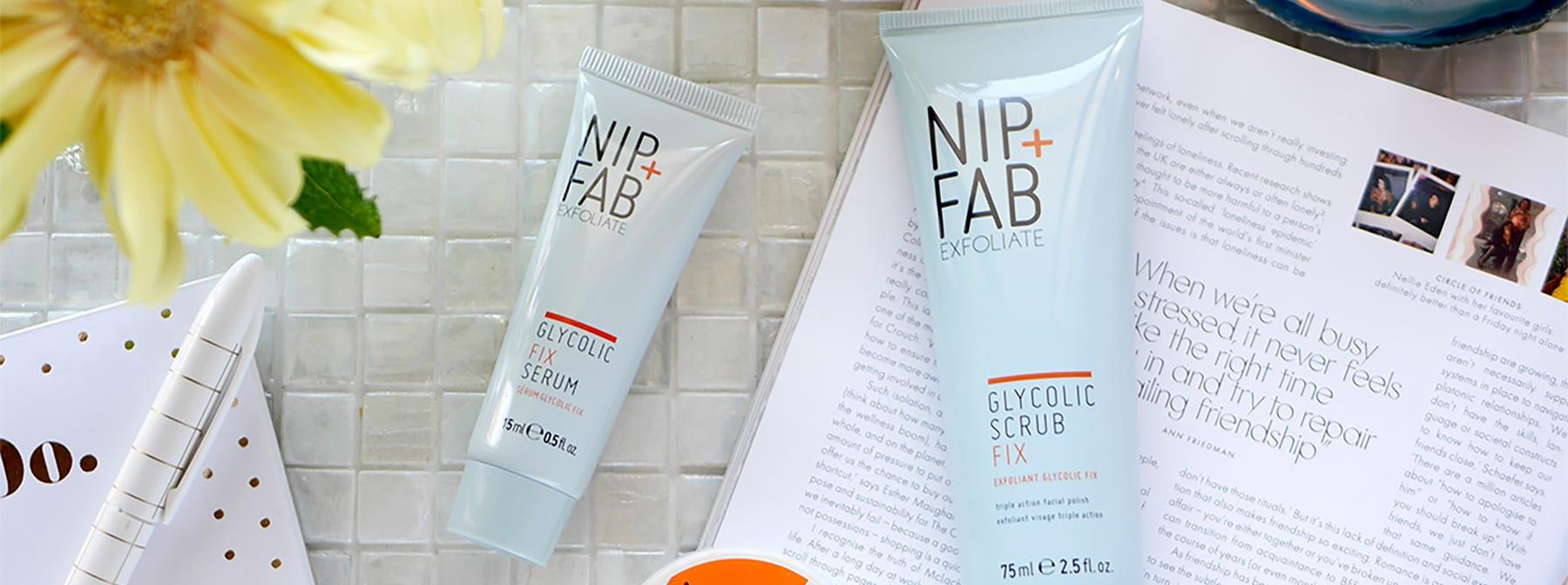 プチプラスキンケアブランド NIP+FABの角質ケアアイテムで夏のゴワゴワ肌を集中ケア