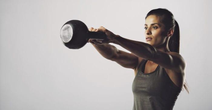 5种最适合初学者的壶铃练习,燃爆你的脂肪