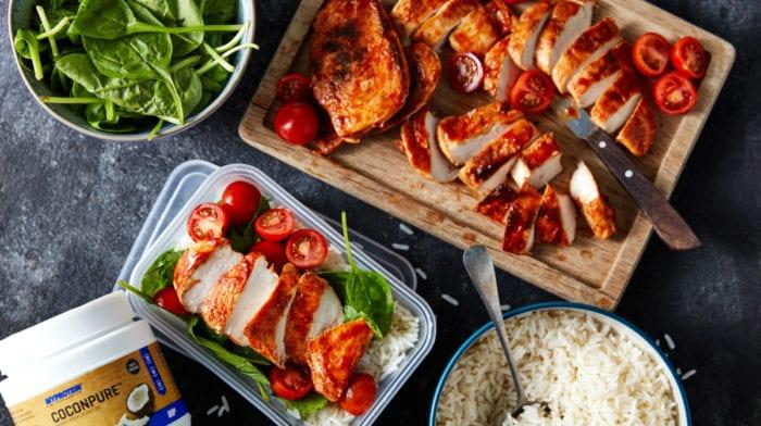 15分钟快手菜 | 低卡低脂·烤鸡肉饭
