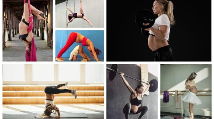谁说怀孕妈妈不能孕期健身?15位女性的孕期健身经验分享