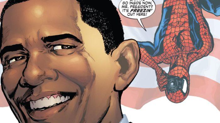 Quand la politique et les Super-Héros se rencontrent