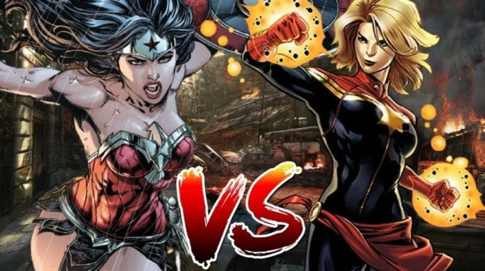 Captain Marvel vs Wonder Woman; qui serait victorieuse ?
