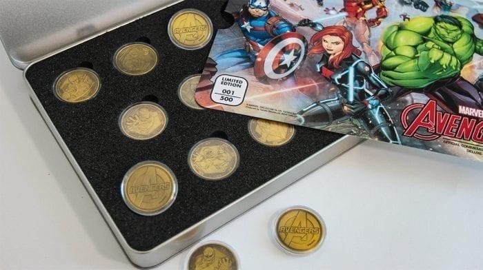 Pièces de collection Marvel Avengers