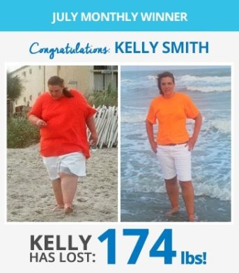 July Ship Shape Challenge Winners - Read Kelly's & Mark's Incredible Stories