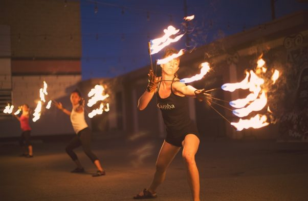 Samba Dancing with Fire? An Everyday Workout for This Girl - #MyIdeal