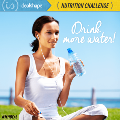 Nutrition Challenge 6: Drink More Water