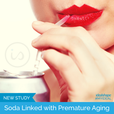 New Study: Soda Linked With Premature Aging