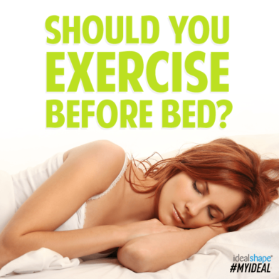 Should You Exercise Before Bed?