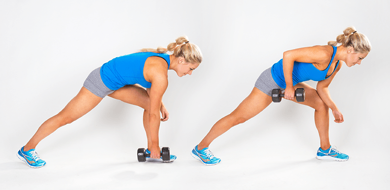 20 minute workout Single-Arm-Dumbbell-Row