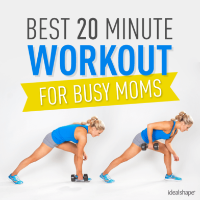 Best 20 Minute Workout for Busy Moms