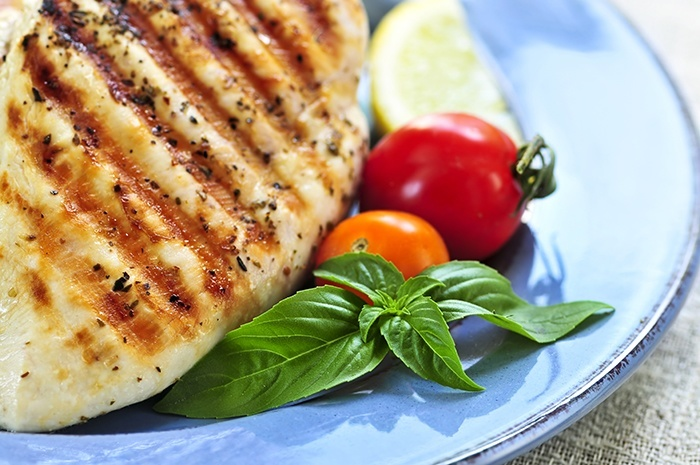 Complete protein - Grilled chicken breasts