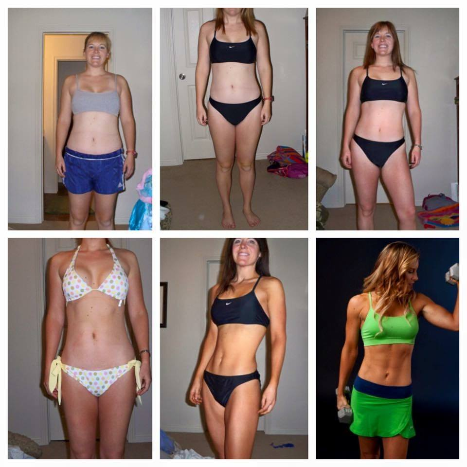 Trainer Lindsey's Before and After Weight Loss Pics