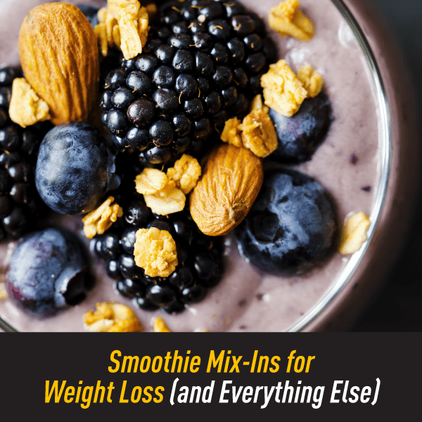 Delicious Weight Loss Smoothie with Berries, Nuts and Oats
