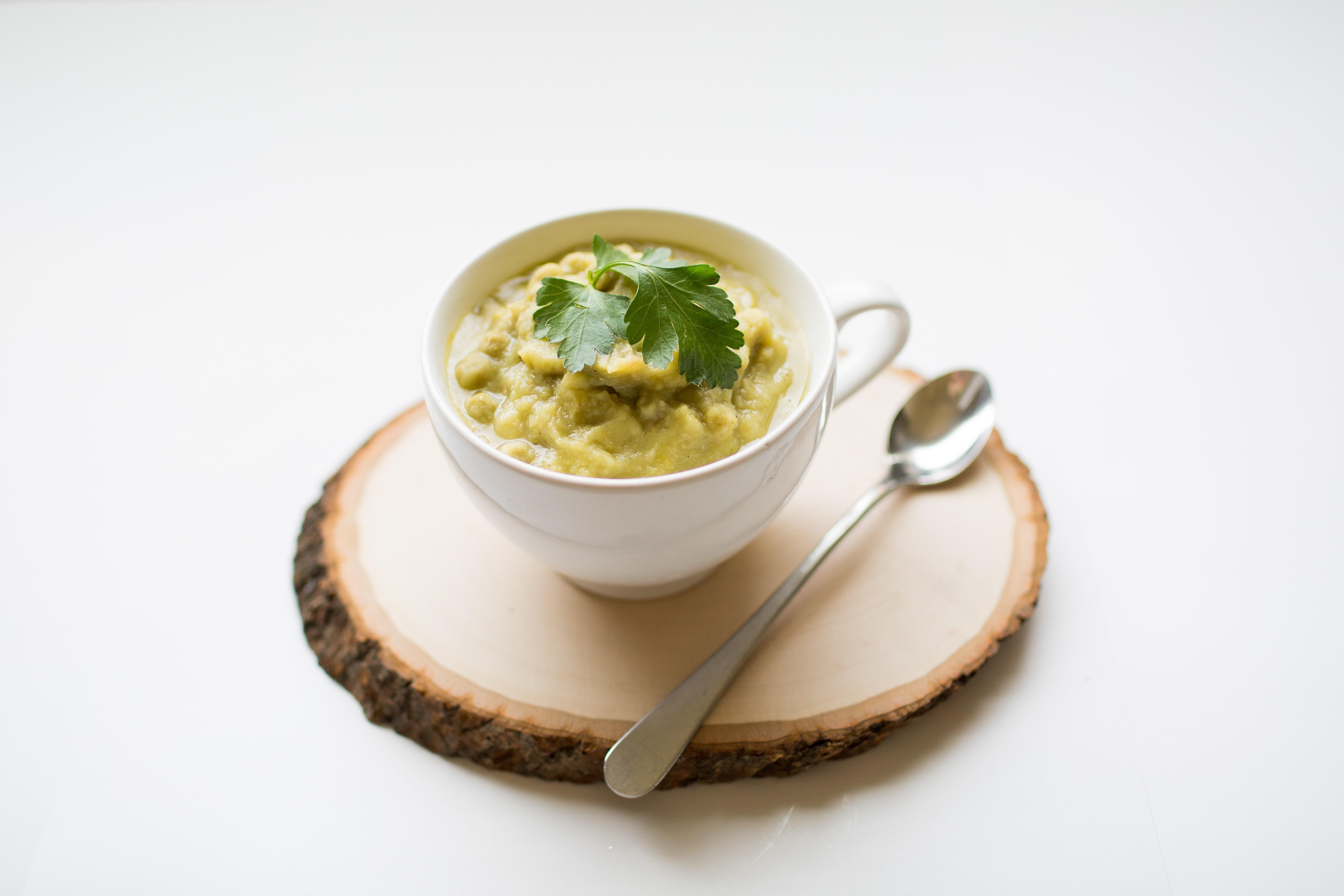 Hearty Green Pea Soup