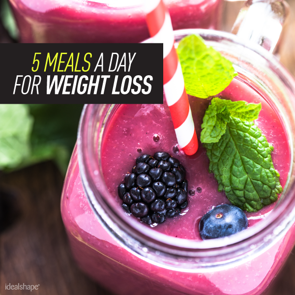 5 Meals A Day For Weight Loss