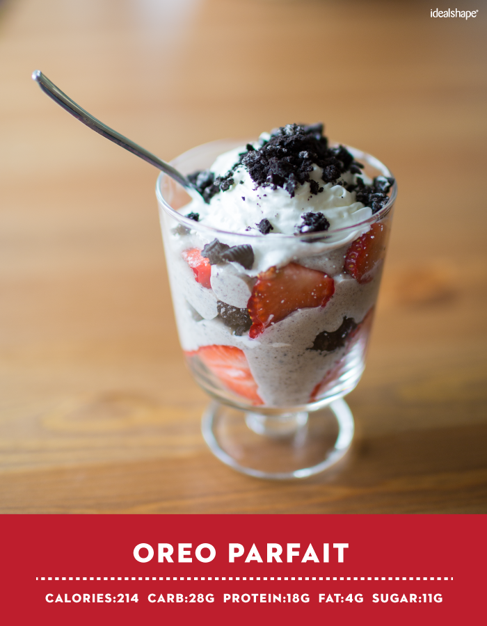 Cookies 'N Cream IdealShake Oreo Parfait