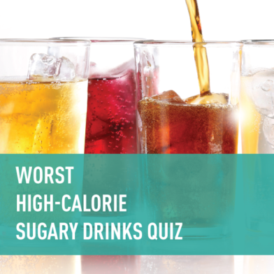 How Bad Are High-Calorie, Sugary Drinks? Take the Quiz!