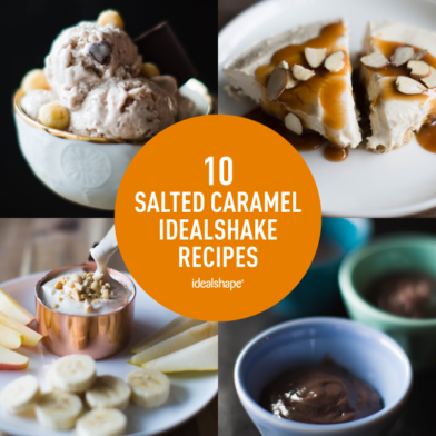 10 Irresistible Salted Caramel IdealShake Recipes