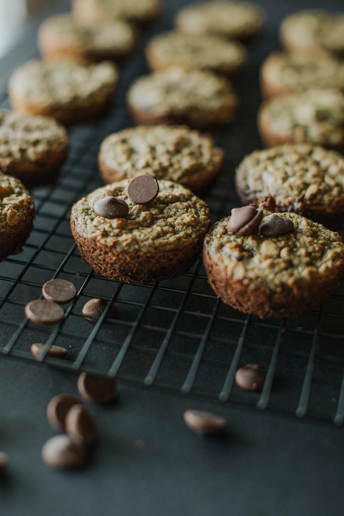 super greens muffins
