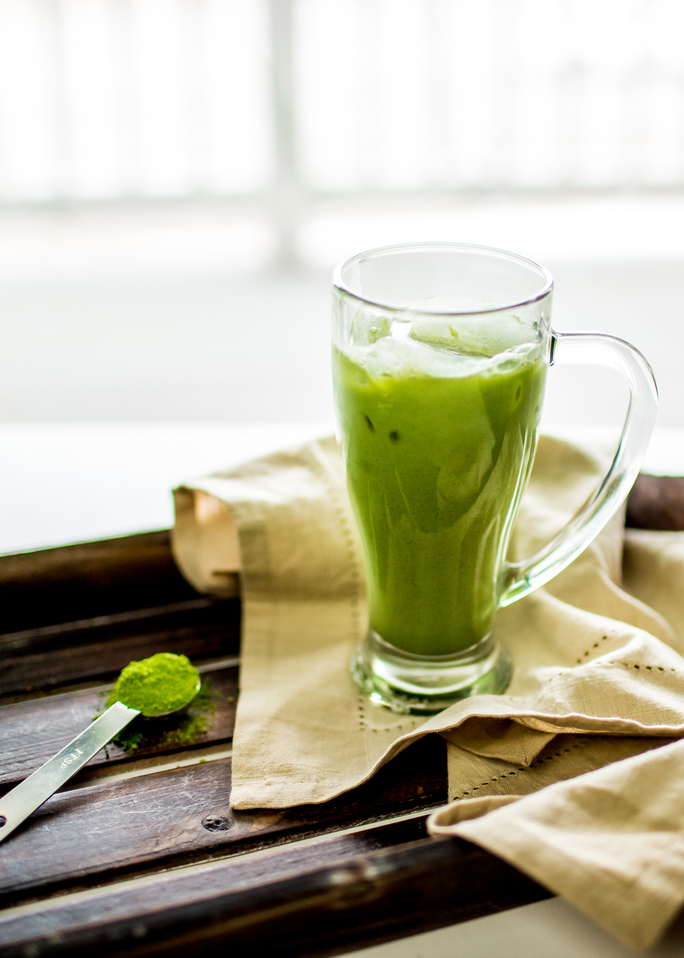 double green iced latte