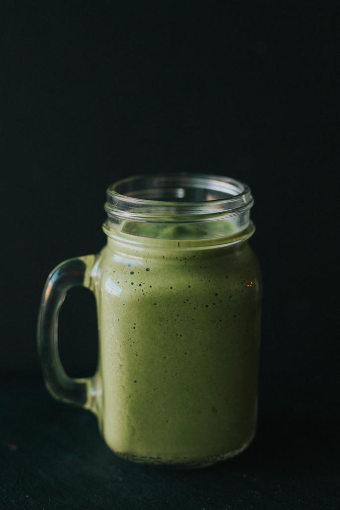 super shake vanilla green smoothie