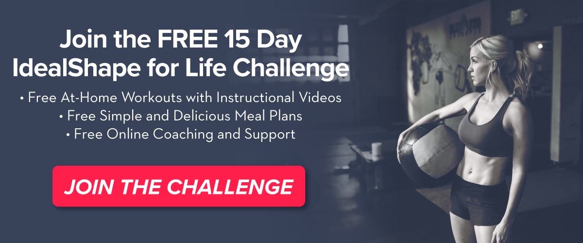 Join our free IdealShape for Life Weight Loss Challenge!