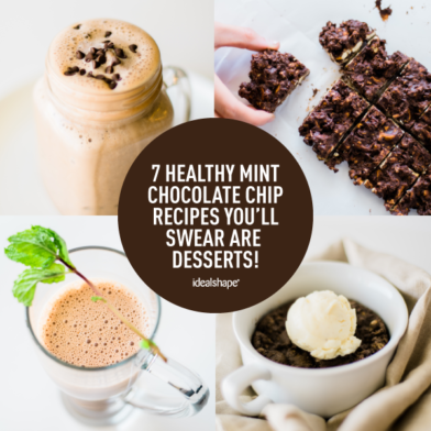 7 Healthy Mint Chocolate Chip Recipes You'll Swear Are Desserts!