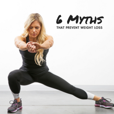 6 Myths Keeping You From Losing Weight