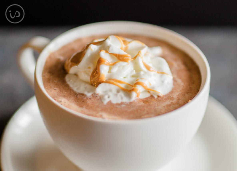 frozen hot chocolate smoothie