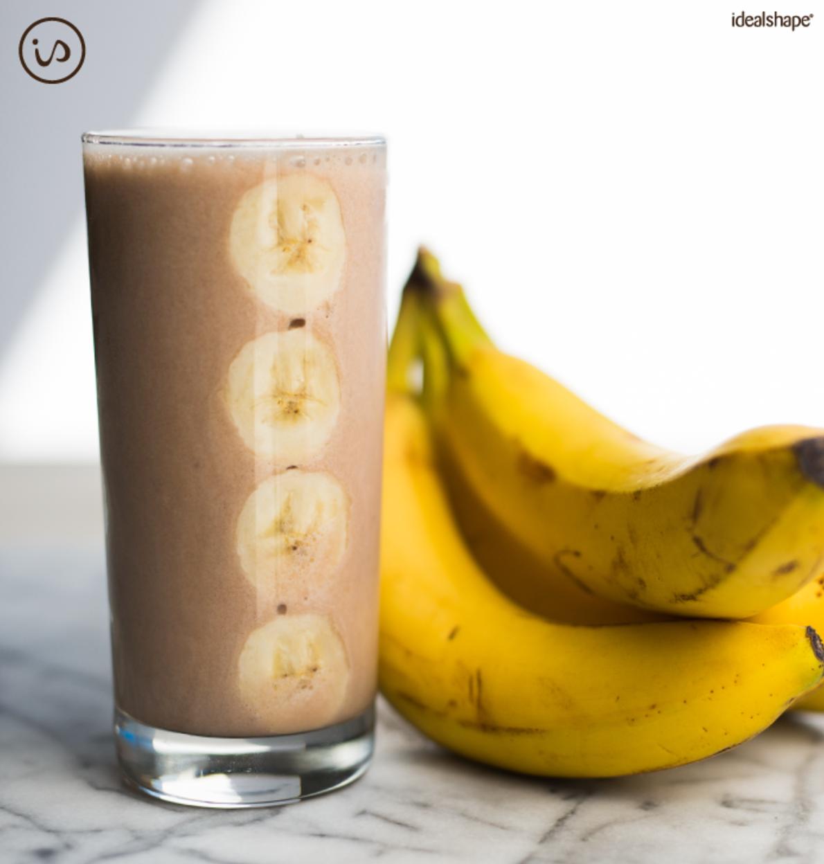 chocolate cream banana smoothie