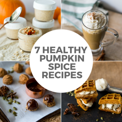 7 Healthy Pumpkin Spice Recipes: Waffles, Lattes, & More